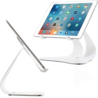 product image for Thought Out Stabile 2.0 Stand White - Made in USA - Compatible with Apple iPad, Pro, Air, Air 2, 12.9, 11, 10.2, 10.5, 9.7, Surface Galaxy Tablet Holder