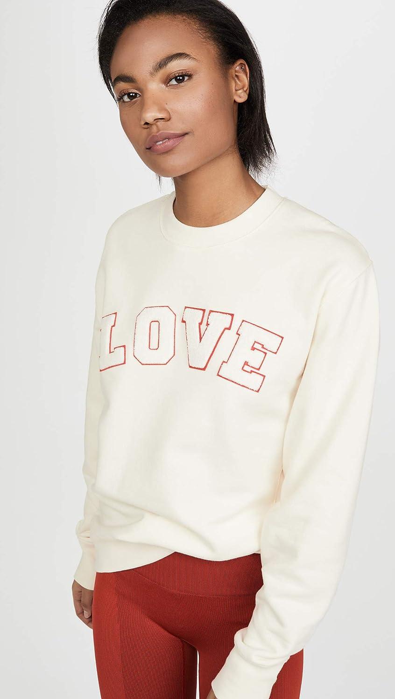 Tory Sport Womens French Terry Love Sweatshirt