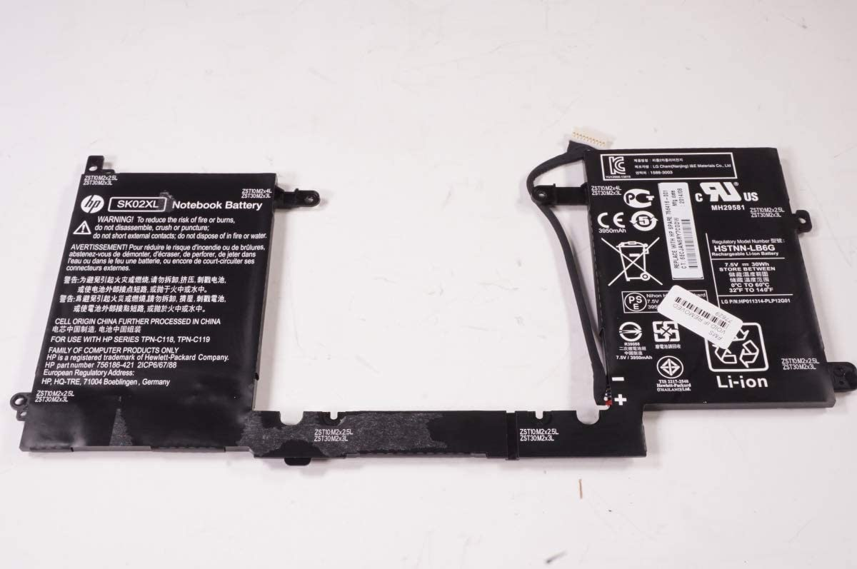 FMB-I Compatible with 756416-001 Replacement for Hp 30Wh 4000Mah 7.4V Battery 13-R010DX X2 Pavilion