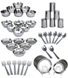 Kpro Stainless Steel Dinner Set Of 50 Pcs