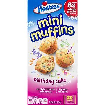 Recipe Hostess Mini Muffins Birthday Cake 4
