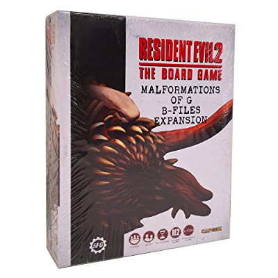 Steamforged Games Resident Evil 2: Malformations of G - B-Files Expansion: Toys & Games