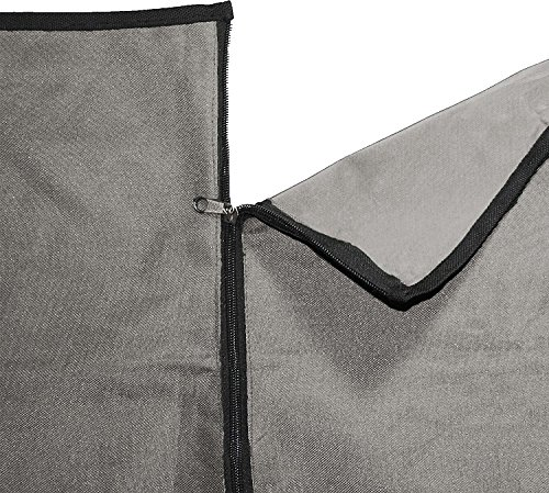 Animal Planet Dog Car Seat Cover 600d - Hammock Seat Cover for Dogs - Universal/Non-slip/Water-Resistant (Grey) by Animal Planet (Image #4)
