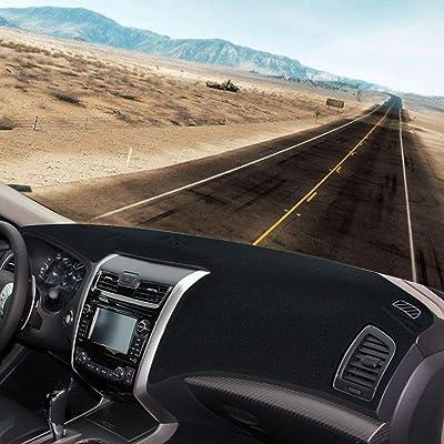 JIAKANUO Auto Car Dashboard Carpet Dash Board Cover Mat Fit Nissan Altima 2013-2020 MR-080(Black): Automotive