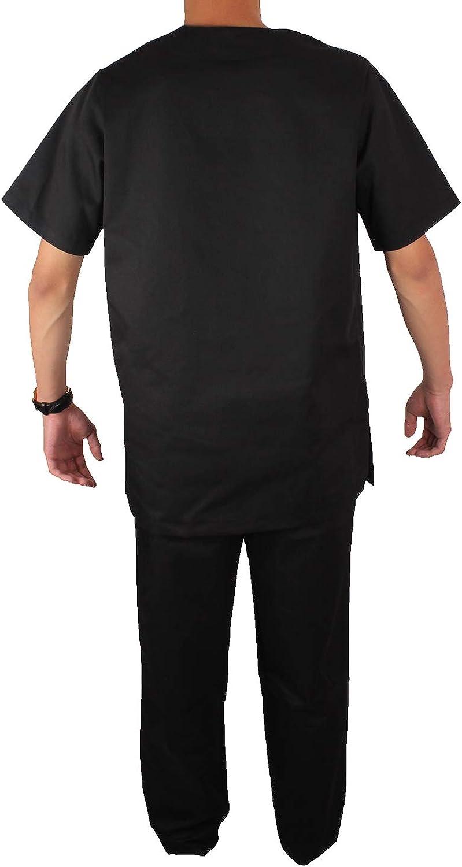 Hombre Misemiya Camiseta Casaca Unfiromes Sanitarios Unisex Camisa de sanitario