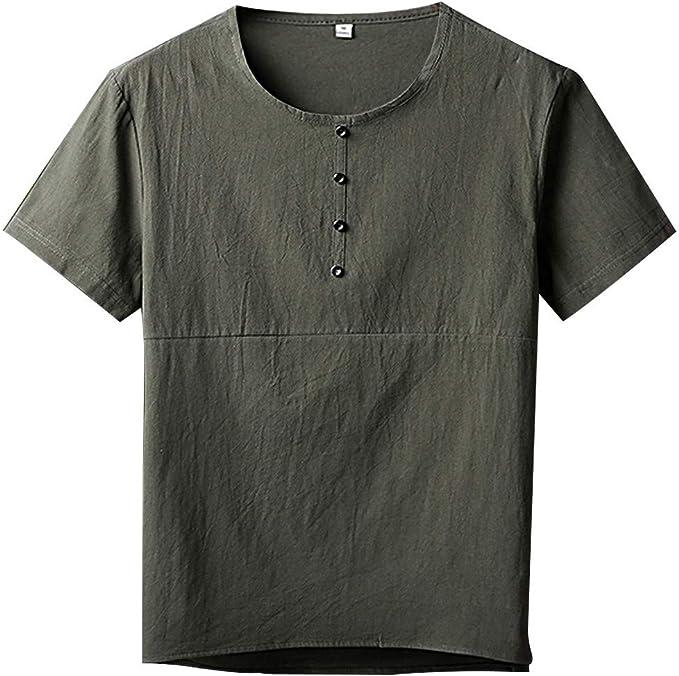 Sannysis Mens Polo Shirt Men Autumn Winter Casual Printed Long Sleeve Slim T-Shirt Top Blouse