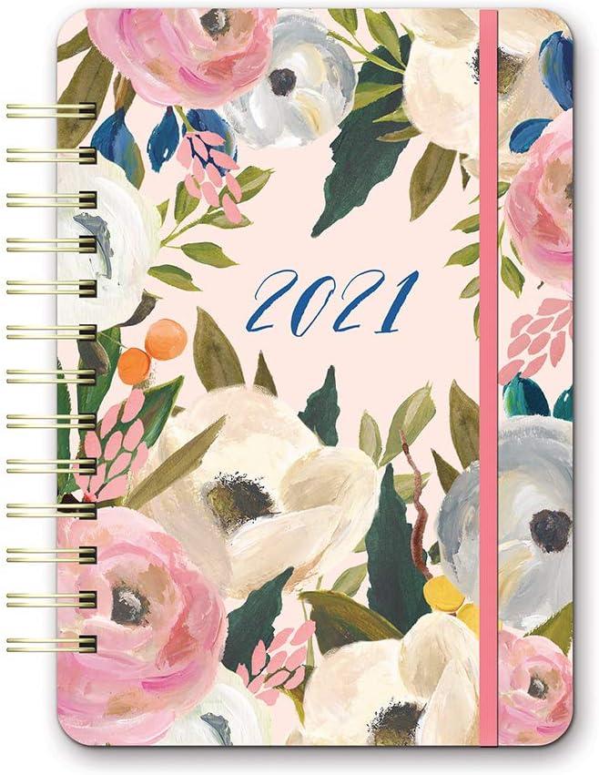 Do It All Weekly Spiral Planner 2021 in Bella Flora by Orange Circle Studio - 6
