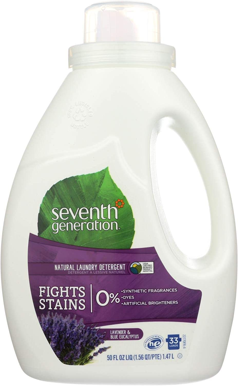 Seventh Generation Euc & Lavender Liquid Laundry Detergent ( 6x50 OZ)