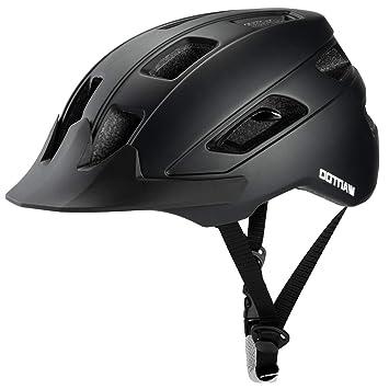 Amazon.com: Wantdo - Casco de seguridad para bicicleta con ...