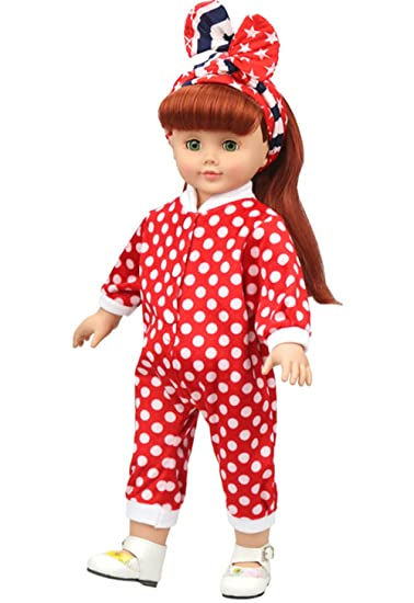American Doll Clothes Outfit Doll Pajamas For 18 Inch Girl Dolls Christmas  Gift New Year Gift - Amazon.com: American Doll Clothes Outfit Doll Pajamas For 18 Inch