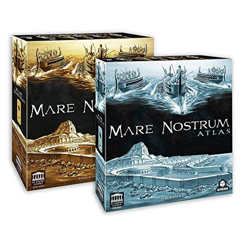 Academy Games Mare Nostrum - Empires w/Atlas Expansion Bundle