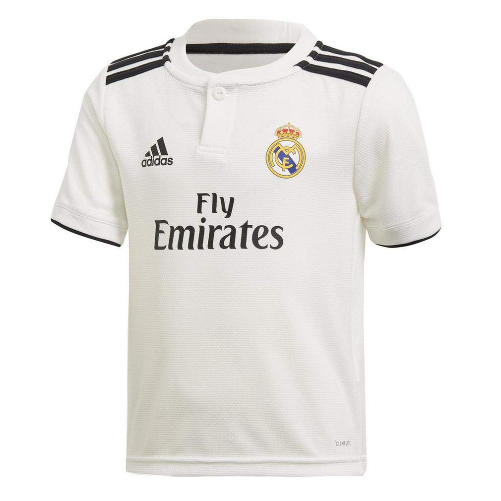 Amazon.com   adidas 2018-2019 Real Madrid Home Shirt (Kids)   Sports    Outdoors 7e383fc0a