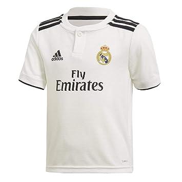 adidas Real Madrid 2018/2019 Camiseta 1ª Equipación, Niños: Amazon.es: Deportes y aire libre