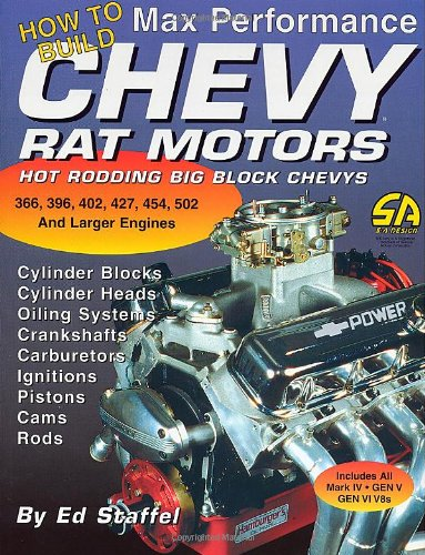 How to Build Max Performance Chevy Rat Motors: Hot Rodding Big-Block Chevys (S-A Design) from Brand: S-A Design