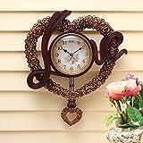 Love wedding fancy wall clock clock fashion living room art clock wall clock 18 inches,D642AM
