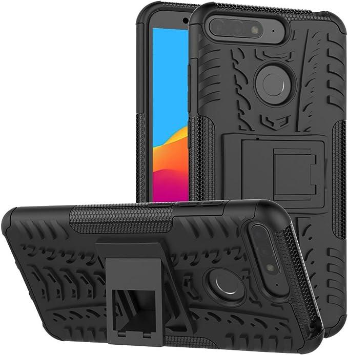 Olixar – Carcasa Huawei Honor 7 A – Funda Indestructible – Armadura protectrice Armourdillo protectrice – Negra: Amazon.es: Electrónica