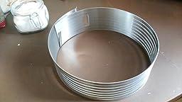 Zenker 7701 - Molde para laminar tartas, 26-28 cm: Amazon