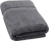 Utopia Towels Soft Cotton Machine Washable Extra Large (35-Inch-by-70-Inch) Bath Towel, Gray