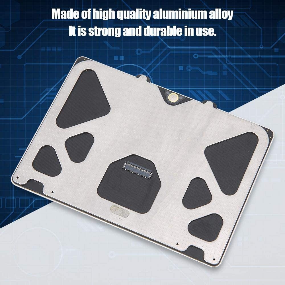 Wendry Tablet Touchpad Aluminium Alloy,Easy to Install,Sensitive to Touch,Tablet Replace Part Touchpad Suitable,Connect Tablet Anytime and Anywhere for A1278 A1286 2009 2010 2011 2012