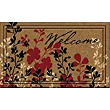 Naturelles Simple Welcome Door Mat, Assorted Styles, 18-inch by 30-Inch (Assorted)
