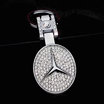 Fitracker 3D Car Logo Metal Alloy Keyring Double Side Auto Keychain Accessories with Gift Box