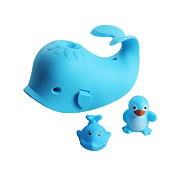 Kids Baby Bath Spout Cover Faucet Cover for a Bathtub for Kids Baby Toddlers Faucet Safety Guard Blue Cute Soft Seal for Enjoyable and Safe Baths for Your Child