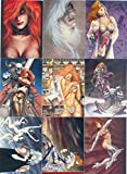 #10: DAWN AND BEYOND JOSEPH MICHAEL LINSNER 1995 COMIC IMAGES BASE CARD SET OF 90