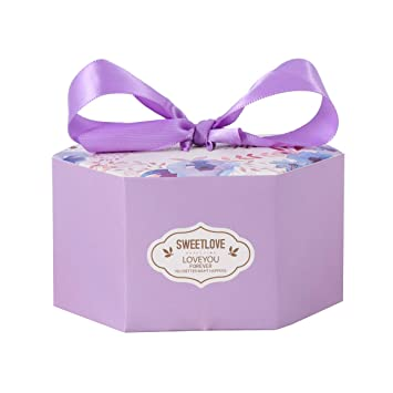 Toyvian 10 Pcs Wedding Gift Boxes Paper Candy Box For Wedding