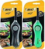 New BIC Mega Standard Utility Lighter – Blue Or Black, Multi-Function - Ideal Tool for Today's Kitchen