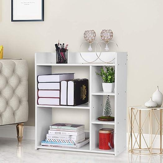 malisu 6-Shelf Bookcase