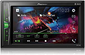 "Pioneer DMH-220EX Digital Multimedia Receiver with 6.2"" WVGA Display (DMH220EX)"