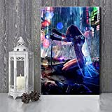 Cyberpunk 2077 Art Canvas Painting Posters and