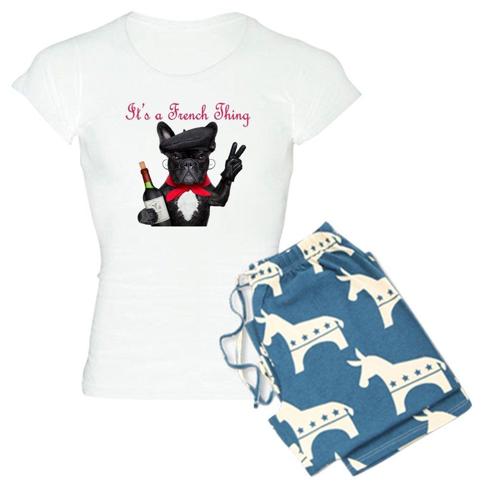 Womens Pajama Set CafePress French Bulldog