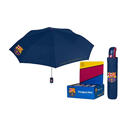 BRANDS|PERLETTI FC Barcelona auto Open Folding windproff 54cm Umbrella