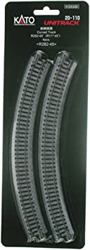 Kato N-scale UniTrack 282mm curves 20-110 4