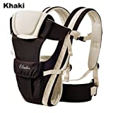 Amazon Price History for:ELENKER Adjustable 4 Positions Carrier 3D Backpack Pouch Bag Wrap Soft Structured Ergonomic Sling Front Back Newborn Baby Infant Khaki