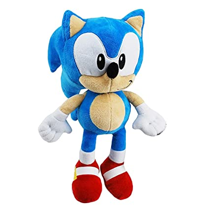 Amazon.com: Juguete de peluche Sonic The Hedgehog de 11.0 in ...