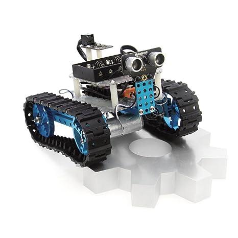 Makeblock - Bricolaje DIY Robot Educativo Starter Kit con Sensor Ultrasónico Bluetooth Módulo para Arduino Aprendizaje