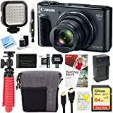 Canon PowerShot SX730 HS 20.3MP 40x Optical Zoom Digital Camera (Black) + 64GB Deluxe Accessory Bundle