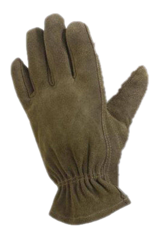 Qualcast mens gloves - Soft Washable Leather Gardening Gloves Olive Various Sizes Amazon Co Uk Clothing