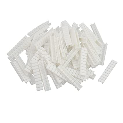 Amazon com: uxcell 100Pcs ZB4 DIN Rail Terminal Block