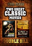 Two Classic Sci-Fi Movies: Crash of the Moons and Curse of Bigfoot