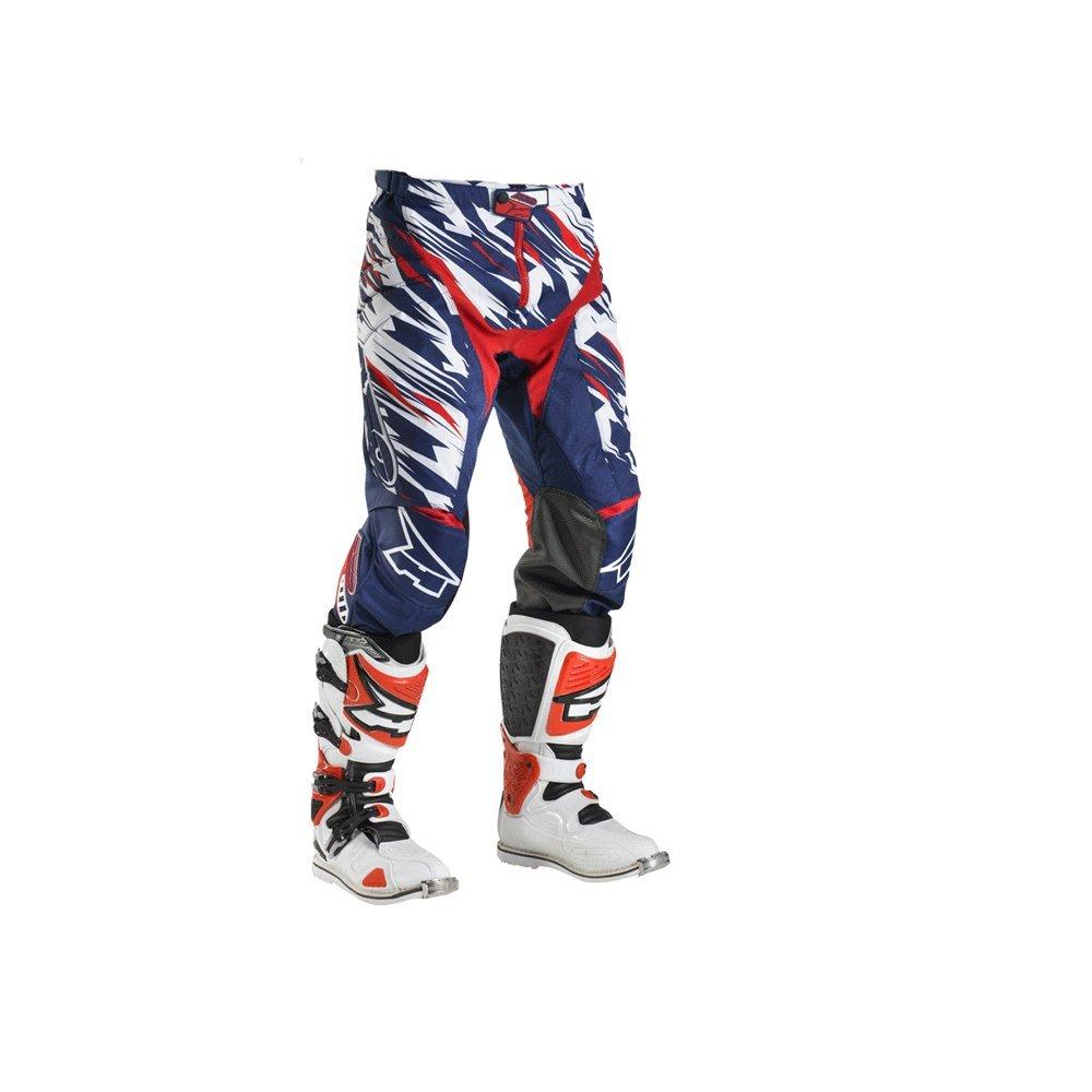 AXO Pantalone Grunge, 46, Nero/Verde AXO International MX3T0060-KV