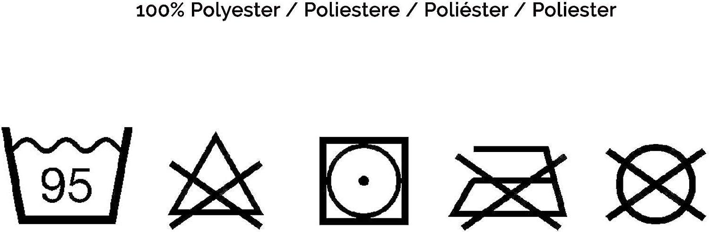 130x170 cm Gris ZOLLNER Couverture de Polyester