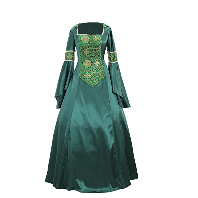Amazon.com: 1791 de mujer histórico disfraz de Renaissance ...