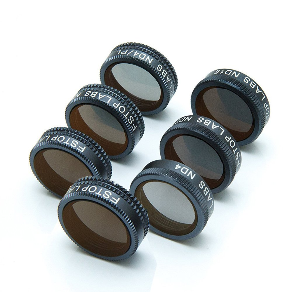 Lens filters for DJI Mavic Air, Mavic Air Accessories 4K Camera Lens Multicoated Filters pack UV, ND4, ND8, ND16, ND4/CPL, ND8/CPL, ND16/CPL (7 Pack)