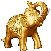 Tubayia - Scultura in Resina a Forma di Elefante, Decorazione da Tavolo per la casa Feng Shui
