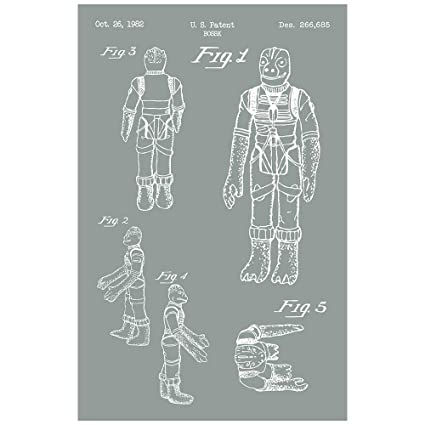 amazon com inked and screened star wars characters bossak print