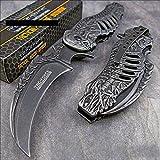 Tac-force Skull Skeleton Claw Folding Blade Pocket Knife For Sale