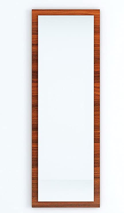 Bluewud Akira M-AK-BL Dressing Mirror (Walnut) Wall Mirrors at amazon